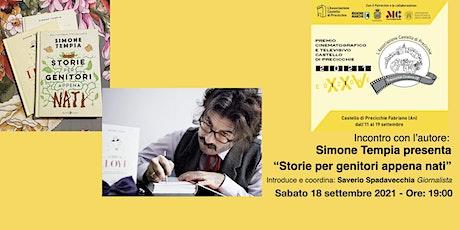 Incontro con l'autore Simone Tempia biglietti