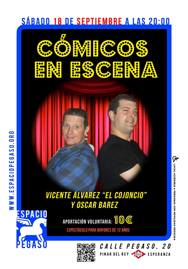 Imagen de COMICOS EN ESCENA.ESPACIO PEGASO