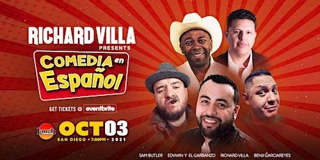 Richard Villa Presents: Comedia En Español tickets