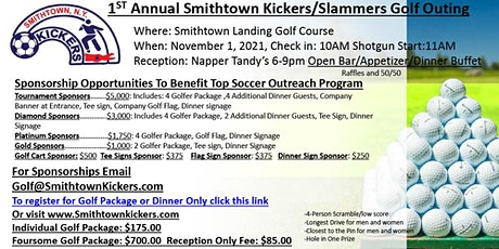 1st Annual Smithtown Kickers Golf Outing tickets