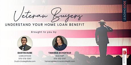 Veteran Buyers - Understanding Your Home Loan Benefit tickets