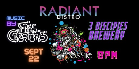Radiant Distro's Hall of Flowers Blastoff Party tickets