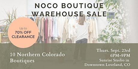 NoCo Boutique Warehouse SALE! tickets