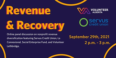Online Panel Discussion: Revenue and Recovery tickets