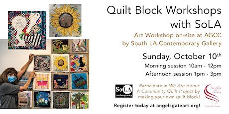Quilt Block Workshops tickets
