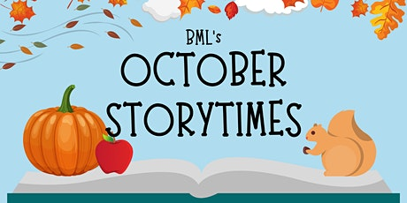 BML's October Storytimes tickets