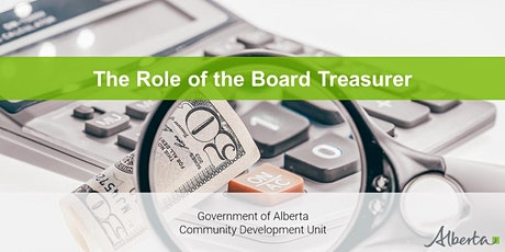 The Role of the Board Treasurer - A Live Interactive Webinar tickets