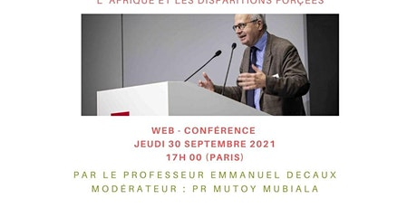 L'AFRIQUE ET LES DISPARITIONS FORCEES billets