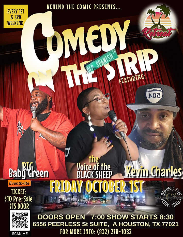 COMEDY ON THE STRIP- THE RETREAT image