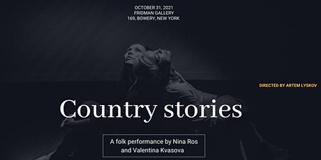 Country stories tickets