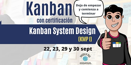 Kanban con certificación Kanban System Design (KMPI) Tickets