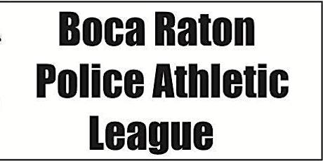 Boca Raton Police Athletic League Sponsorship 2021-2022 tickets