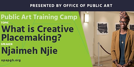 Public Art Training Camp: What is Creative Placemaking? tickets