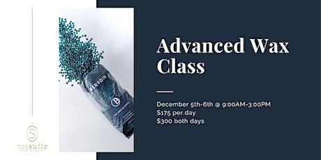 Advanced Wax Class tickets