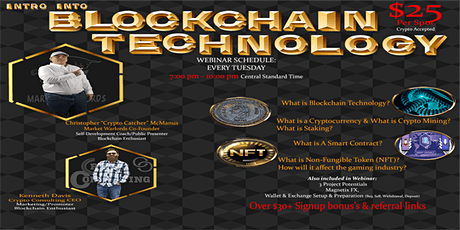 Introduction Into Blockchain Technology tickets