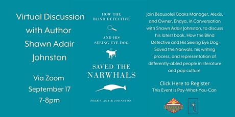 Virtual Discussion with Author Shawn Adair Johnston tickets