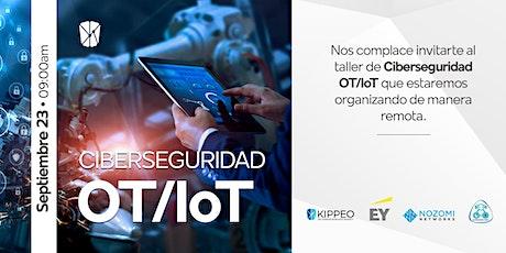 Taller en línea de ciberseguridad OT/IoT entradas