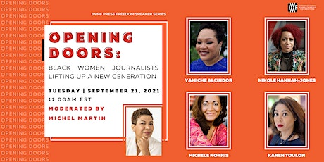 Opening Doors: Black women journalists lifting up a new generation tickets