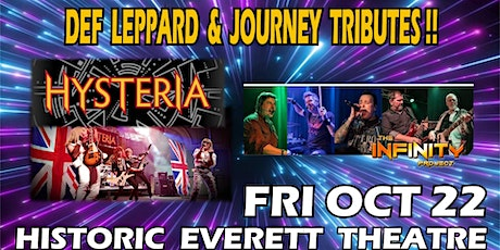 Hysteria: a Def Leppard Tribute with Infinity Project, a Journey Tribute tickets