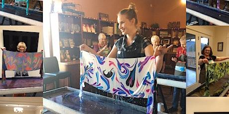 Create a Silk Scarf, SIP & DIP Workshop- NOBLE RIDGE WINERY tickets