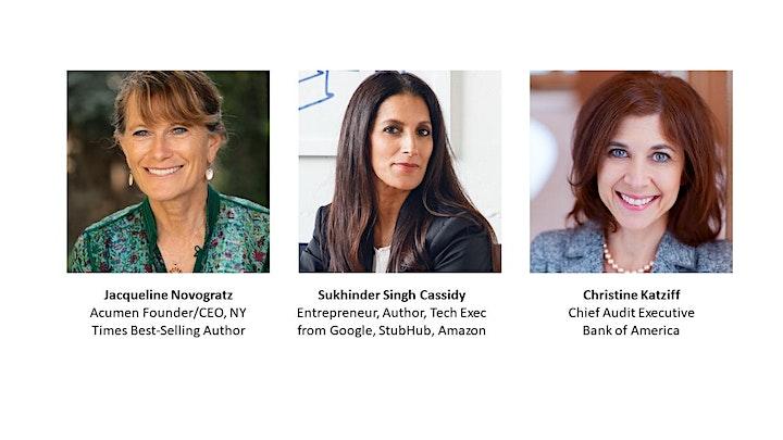 StubHub,  Acumen, Bank of America Execs on Advancing Gender Equity image