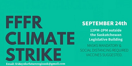 Global Climate Strike: Regina tickets