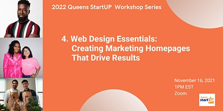 Web Design Essentials: Creating Marketing Homepages That Drive Results tickets