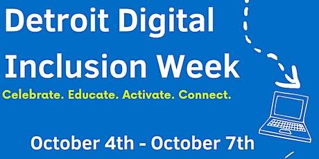 Detroit Digital Inclusion Week tickets