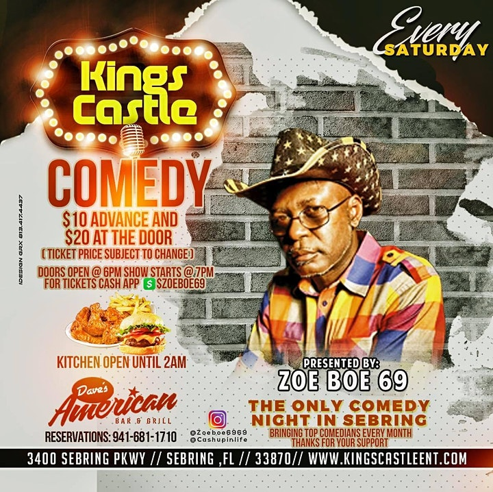 King Castle Comedy Daves image