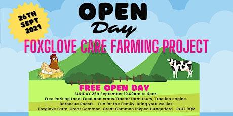 Foxglove Farm Open Day - Community Care Project tickets