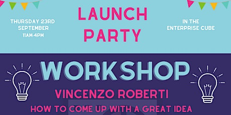 Launch Party - Workshop with Vincenzo Roberti tickets