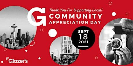 Glazer's Community Appreciation Day tickets