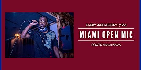 Miami Open Mic | Roots Miami Kava Bar tickets
