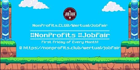 Monthly #NonProfit Virtual JobExpo / Career Fair #Washington tickets