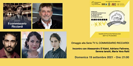 """Omaggio alla Serie TV """"Il Commissario Ricciardi"""" biglietti"""