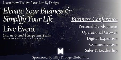 From Success To Significance - Elevate Your Business & Simplify Your Life tickets
