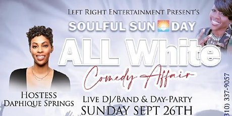 The J Spot Comedy Club Presents: Soulful Sunday All White Comedy Affair tickets
