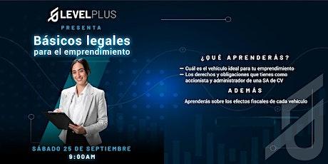 Basicos legales para el emprendimiento entradas