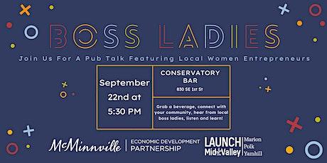 Pub Talk: Boss Ladies tickets
