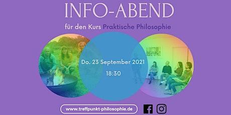 """Info-Abend """"Praktische Philosophie"""" Tickets"""