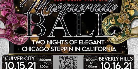 California Steppers Masquerade  Ball tickets