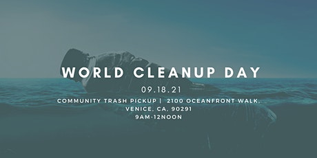 World Cleanup Day, Venice Beach Community Trash Pickup tickets