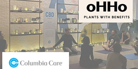 CBD yoga with oHHo and Columbia Care tickets