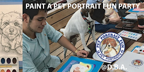 Paint and Sip Pet Portrait Fun- Sunday Funday - D.B.A East Village tickets