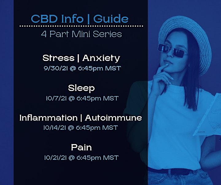 Control Pain: CBD Mini Series, PART 4 image