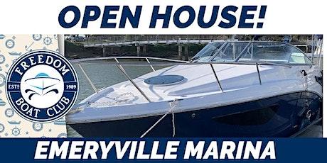 Open House at Emeryville Marina tickets