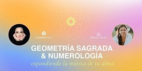 Workshop: Numerología & Geometría Sagrada entradas