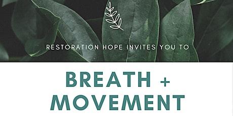 Breath + Movement Class tickets