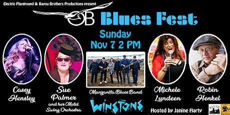 OB Blues Fest tickets