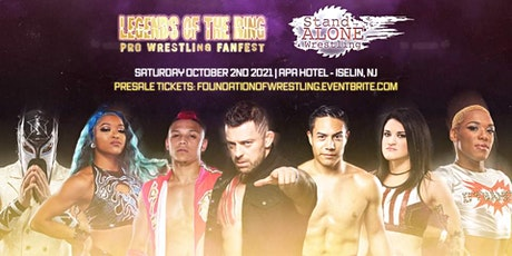 Stand Alone Wrestling: At Legends of The Ring tickets